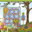 Serie Patchwork Garden von Cat William