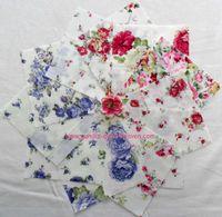 Patchworkstoff 11 Quadrate 5 Inch/12,7cm Rosen Serie 3