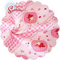 Patchworkstoff Stoff Quilt Serie SUNRISE Schmusegeschichte rosa 140cm