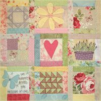 BOM L068 - Butterfly Garden - Block 8 - Leanne Beasley