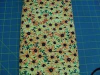 Patchworkstoff Stoff Quilt The State Flowers-Black-Eyed Susan Sonnenblumen von Suzan Ellis 30x110cm