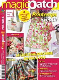 Patchwork Magazin Magic Patch 109 - Printemps créatif