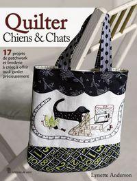 Patchwork Magazin von Lynette Anderson Quilter chiens & chats Okt. 2010