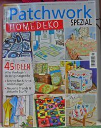 Patchwork Magazin Spezial 6-1/2014 Homedeko