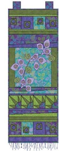 Kostenlose Nähanleitung für Quilt Art Banner