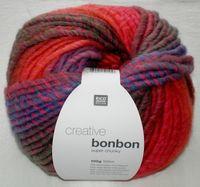 Creative Bonbon Super Chunky Wolle Rico multi pink 100g 383084.003