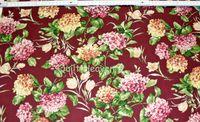 Patchworkstoff grosse Blumen Hortensie Hydrangea