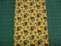 Patchworkstoff Stoff Quilt Mary Engelbreit rote Blumen