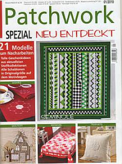 Patchwork Magazin Spezial 1/2010 Neu entdeckt