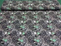 Jerseystoff mit Chamäleons 1,60m breit