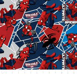 Patchworkstoff ultimate spiderman Camelot  MARVEL
