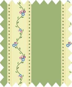 Patchworkstoff Quilt Stoff Country Chic Cottage Streifen grün 145cm