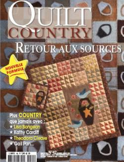 Patchwork Magazin Quilt Country 42 - Retour aux sources