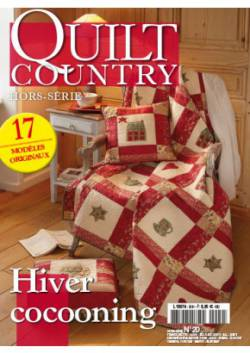 Patchwork Magazin Quilt Country HS No.20 Hiver cocooning