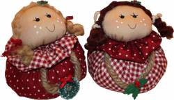 Materialpackung `Ballpuppets` 2 Stück Weihnachtsmäuse