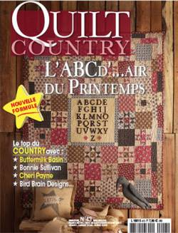 Patchwork Magazin Quilt Country 43 - L`ABCD`Air du Printemps