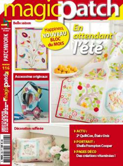 Patchwork Magazin Magic Patch 116 - En attendant l`été