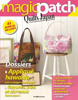 Patchwork Magazin Magic Patch Quilts Japan No.10 - Dossiers Appliqué ...