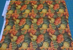 Patchworkstoff Quilt Stoff Pumpkin Kürbis
