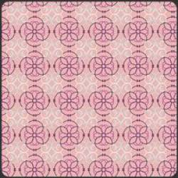 Patchworkstoff  Stoff Quilt Bazaar Style rosa Mosaik Muster