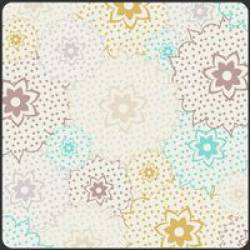 Patchworkstoff Stoff Quilt Bazaar Style blue sahara stars pastell