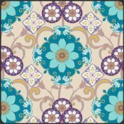 Patchworkstoff Stoff Quilt Bazaar Style socean gems