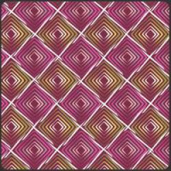 Patchworkstoff Stoff Quilt Poetica Style Heartbeats Radiant lila und grün