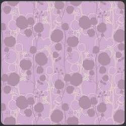 Patchworkstoff Stoff Quilt Poetica Style Sonnet lila flieder Blumen Muster