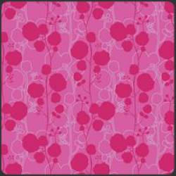 Patchworkstoff Stoff Quilt Poetica Style Sonnet Ruby rosa Blumen Muster