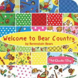 Jelly Rolle Welcome to Bear Country! von The Berenstains Kinderstoffe