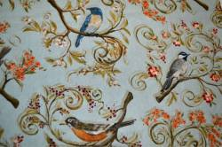 Patchworkstoff Quilt Stoff Nestled In The Branches Bird Scenic
