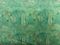 Patchworkstoff Quilt Stoff grüne Blätter Debbie Mumm