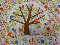 Patchworkstoff Quilt Stoff The Best Tales Storytime Tree