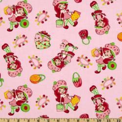 Patchworkstoff Quilt Stoff Emily Erdbeer Strawberry Shortcake Einkaufen