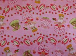 Patchworkstoff Quilt Stoff Emily Erdbeer Strawberry Shortcake Kleider