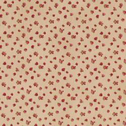 Patchworkstoff Quilt Stoff Rosies Garden kleine Rosen auf beige