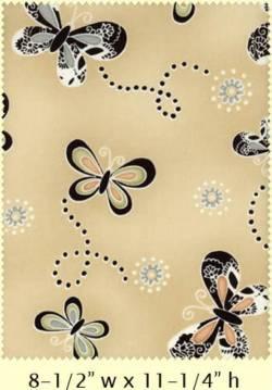 Patchworkstoff Quilt Dandelion Daydreams Butterflies Schmetterlinge