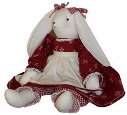Schnittmuster für einen tollen Hasen`Ruby Rabbit` 50cm Nähanleitung