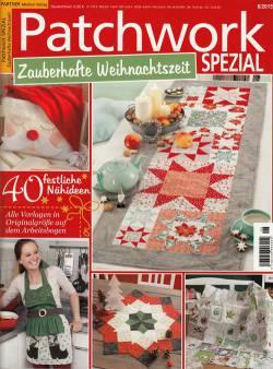 Patchwork Magazin Spezial 6/2015 Zauberhafte Weihnachtszeit