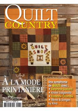 Patchwork Magazin Quilt Country 48 - A la mode printanière