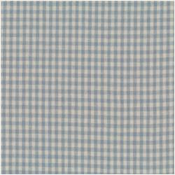 Patchworkstoff Quilt Stoff Shabby Chic blau kariert 55% Leinen
