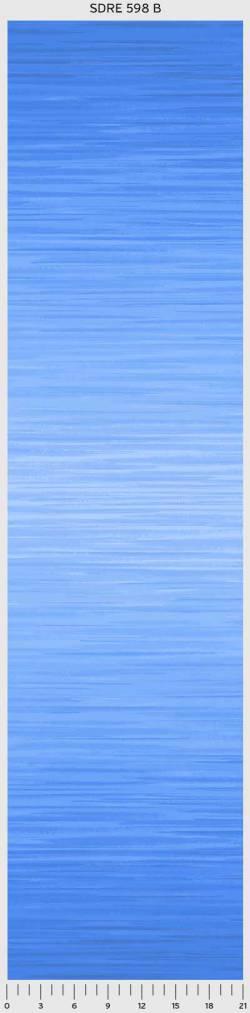 Patchworkstoff Quilt Farbverlaufsstoff Soft Dreams blau-hellblau