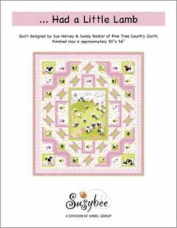 Kostenlose Nähanleitung `...Had a little Lamb` von Sue Harvey & Sandy Boobar