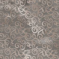 Patchworkstoff Quilt Stoff Ombre Scroll Kringel STONE 24174-K