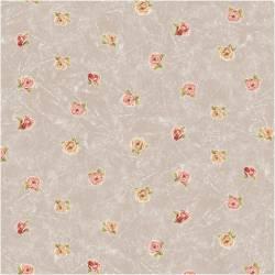 Patchworkstoff Quilt Stoff Rosies Summer kleine Rosen auf sand