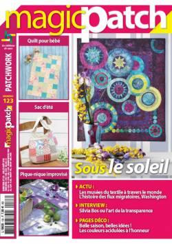Patchwork Magazin Magic Patch 123 - Sous le soleil