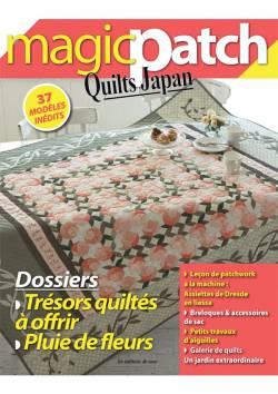 Patchwork Magazin Magic Patch Quilts Japan No.14 - Dossier Trésors quiltés à offir & Pluie de fleurs