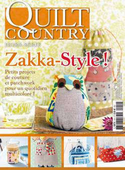 Patchwork Magazin Quilt Country HS No.19 - Zakka-Style!