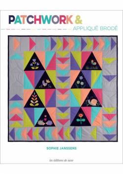 Quilt Zeitschrift `Patchwork & appliqué brodé` franz. Sprache