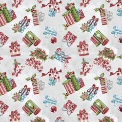 Patchworkstoff Quilt Stoff Christmas Weihnachten Geschenke